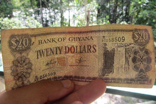 Surinam y Guyana. Dinero