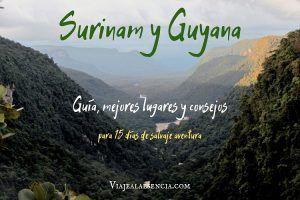 Surinam y Guayana. Portada