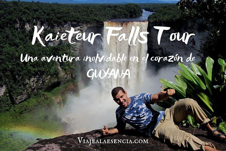 Kaieteur falls. Portada