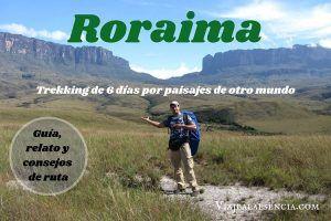 Trekking al monte Roraima portada
