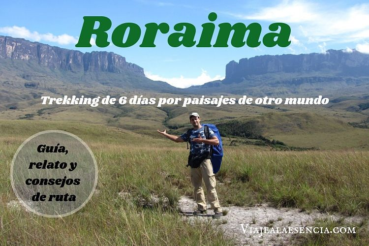 Roraima Trekking. Portada