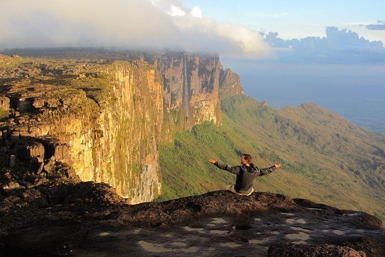 Roraima Trek. Vistas desde el borde del Tepuy