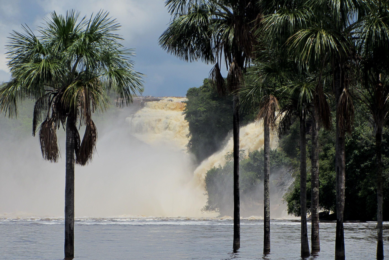 salto del ángel. cascada de Canaima