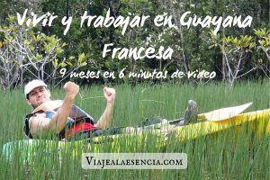 Vivir y trabajar en Guayana Francesa. Portada