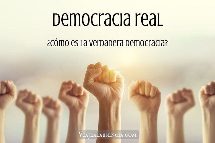 Democracia real. Portada