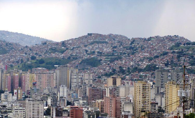 Los contrastes de Caracas