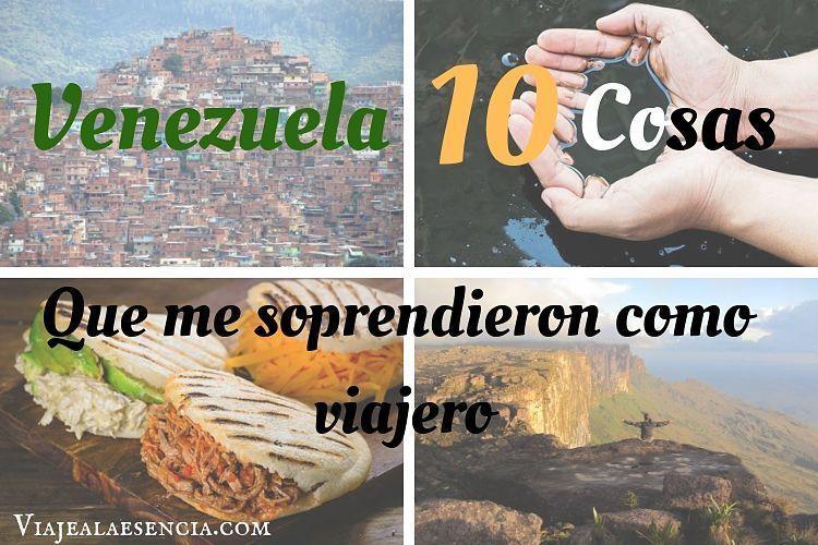Venezuela, portada