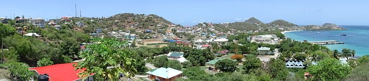 Isla Canouan. Islas Granadinas