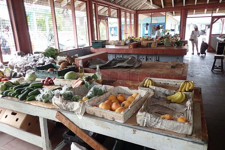 Mercado en Port Elisabeth. Islas Granadinas