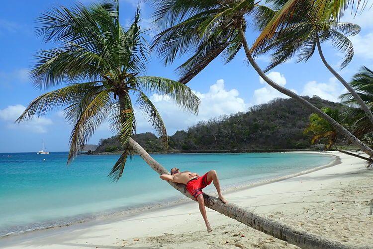 Playa de Mayreau, Islas Granadinas