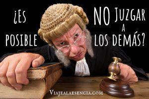 ¿Es posible no juzgar a los demás? Portada