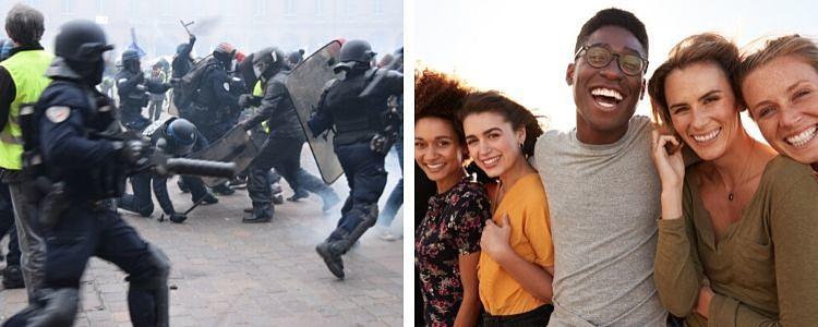 mis expectativas versus la realidad de Colombia