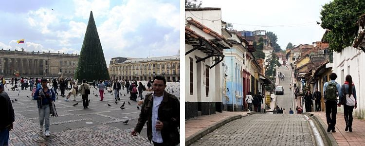 Paseando por Bogotá