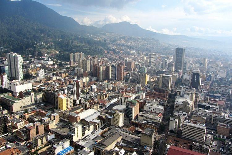 Vistas de Bogotá desde la Torre Colpatria
