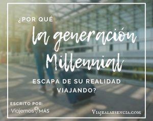 Generación millenial. Portada
