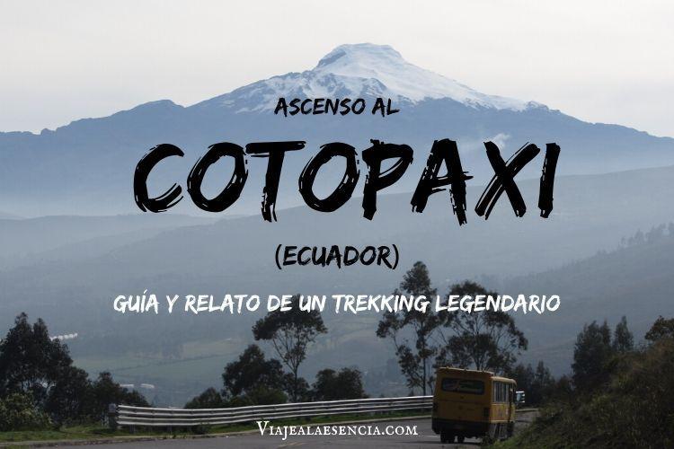Foto del volcán Cotopaxi