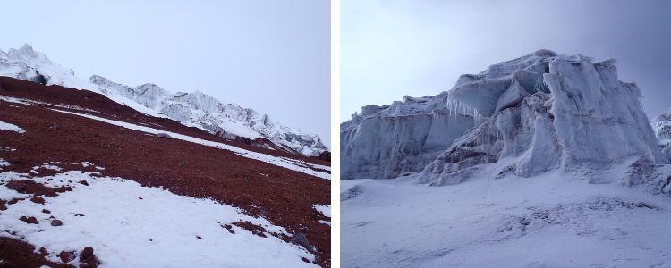glaciar del Cotopaxi
