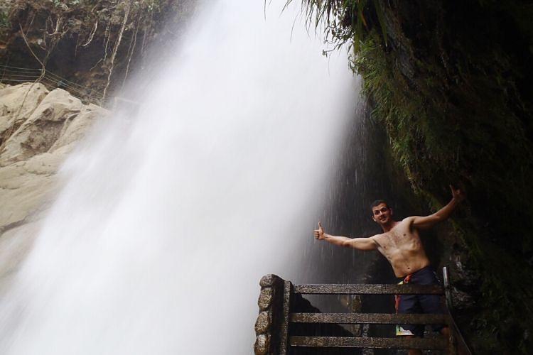 El Paillón del Diablo, bonita cascada cerca de Baños