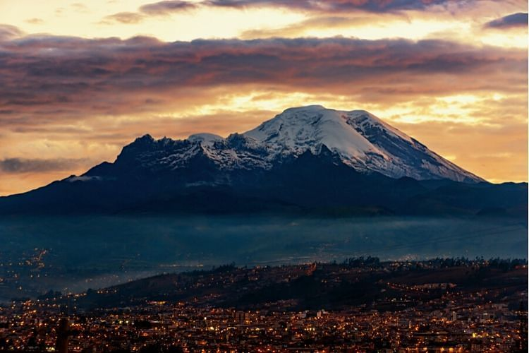 Volcán Chimborazo. Ecuador