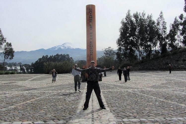 Reloj temporal de Quitsato. Ecuador