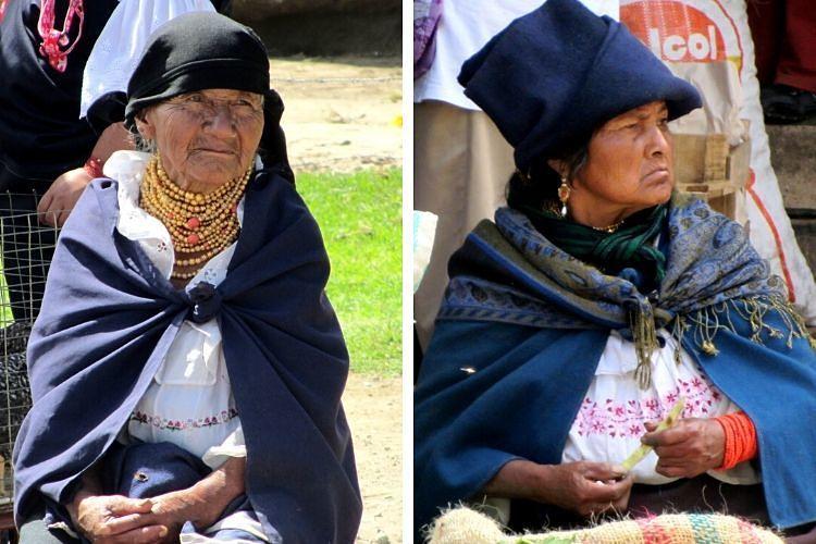Gente de Otavalo. Ecuador