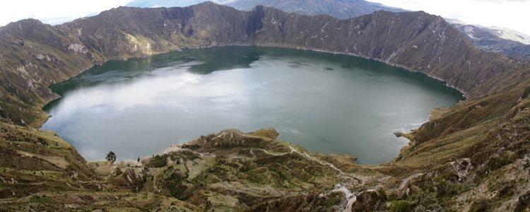 Laguna de Quilotoa. Ecuador