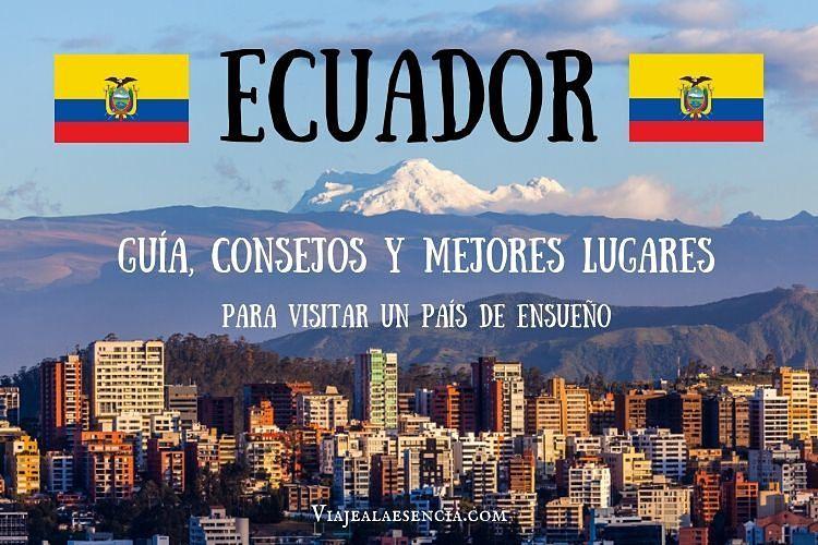 Guía Ecuador. Portada