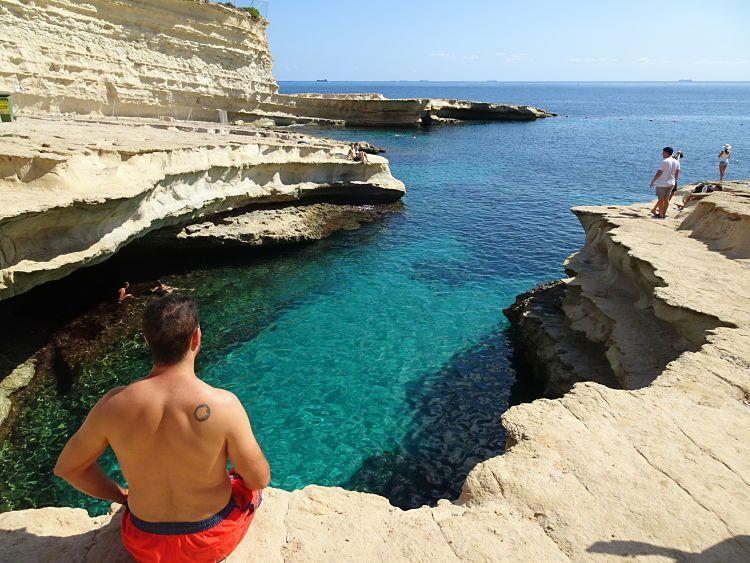 Saint Peter's Pool, el último chapuzón en Malta