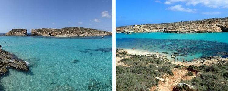Blue Lagoon, en Comino. El mejor chapuzón de Malta