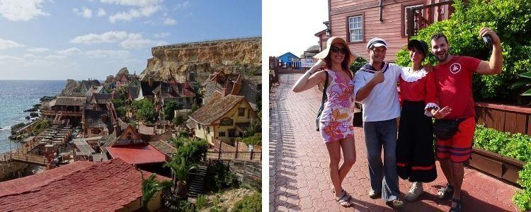 El divertido Popeye Village