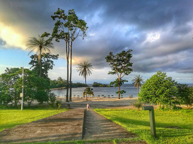 El clima en Guinea Ecuatorial es tropical