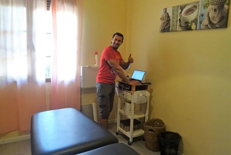 Soy fisioterapeuta 2 o 3 meses al año