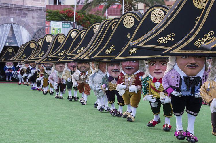 El Baile de los enanos de La Palma
