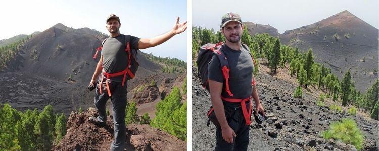 Volcán Duraznero y Volcán Martín. Ruta de los volcanes