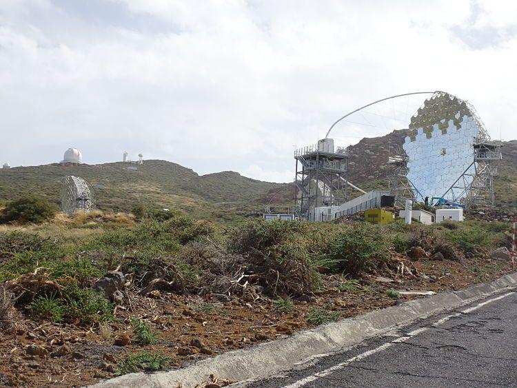 El observatorio del Roque de los Muchachos