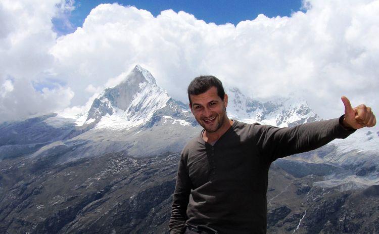 El Huangay, de 6200 metros de altura