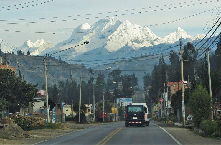 El Huascarán, montaña más alta de Perú