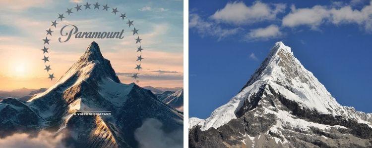 El Artesonraju, la montaña de Paramount