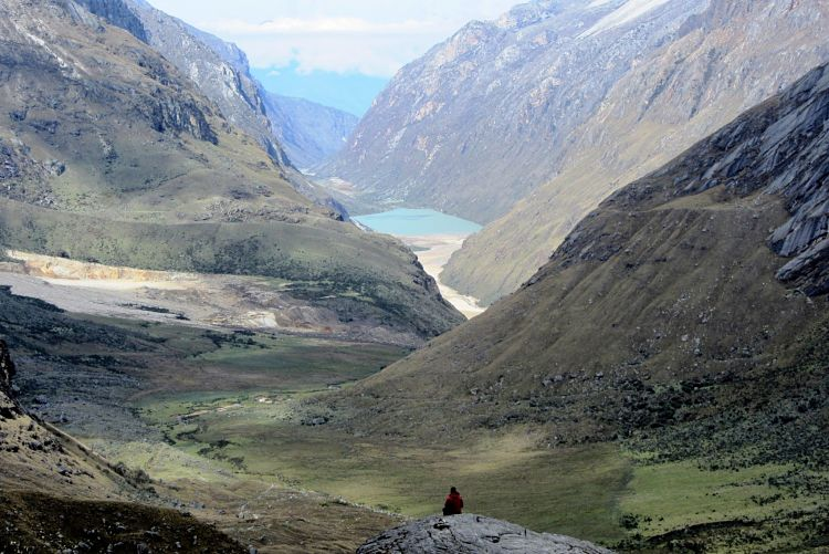 El valle del Trekking Santa Cruz