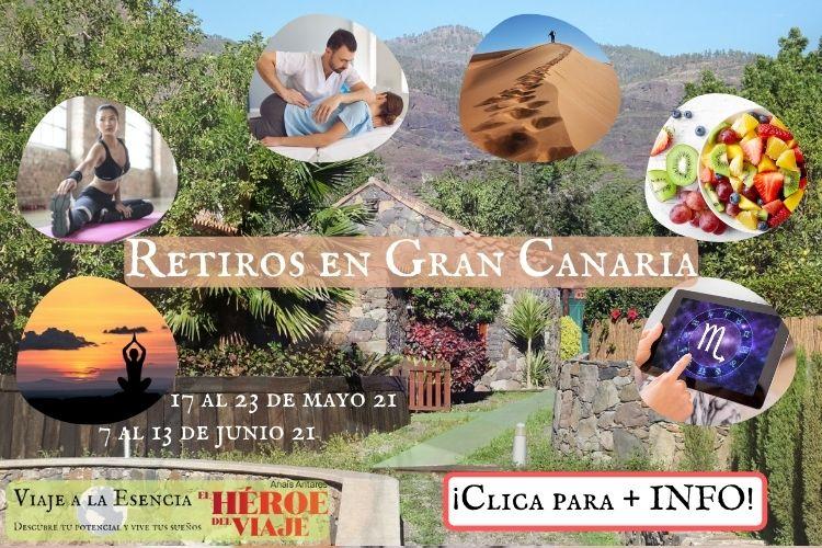 Retiros en Gran Canaria. Portada